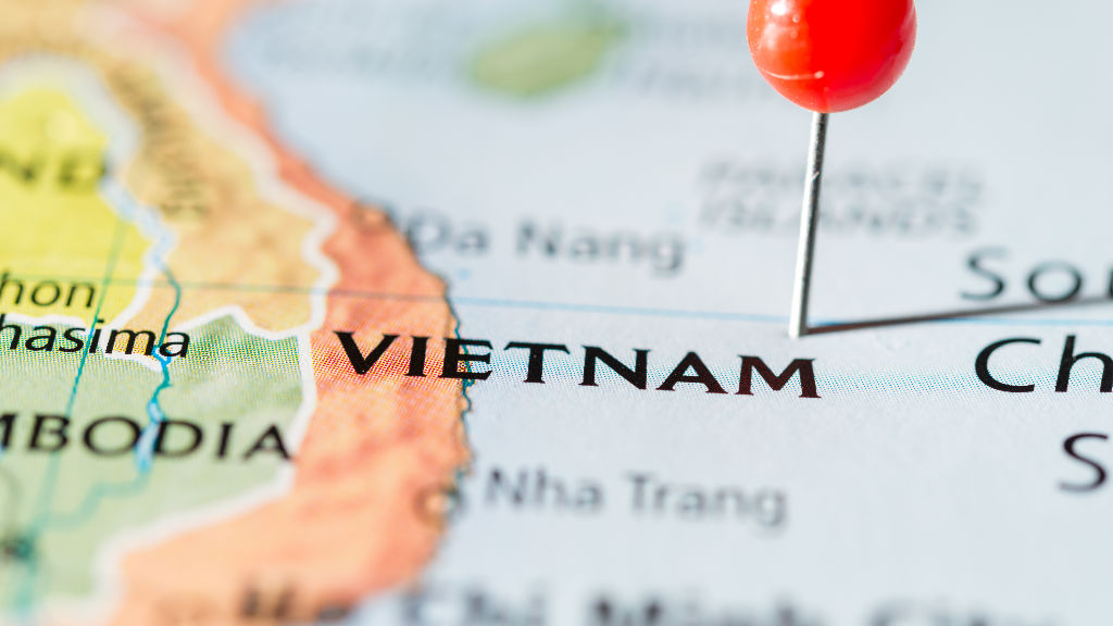 Vietnam Location Map