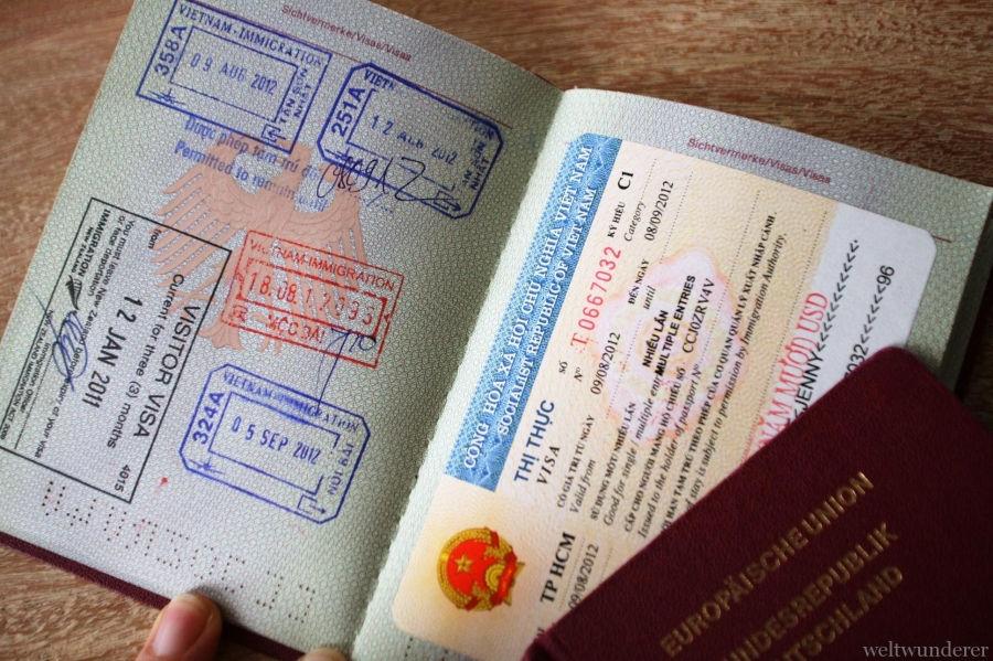 visa for Vietnam from German