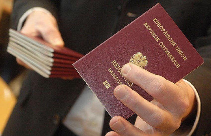 Austria passport