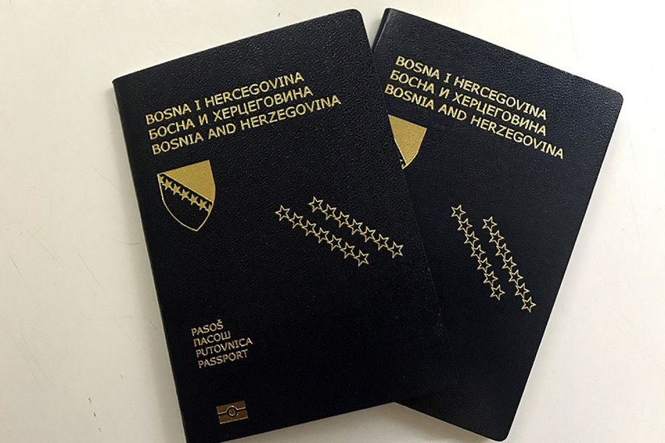 Bosnia and Herzegovina Citizen passport