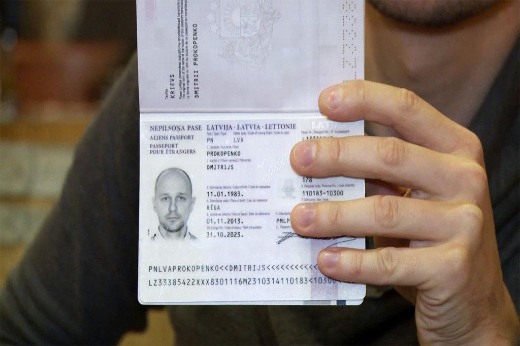 Latvia passport