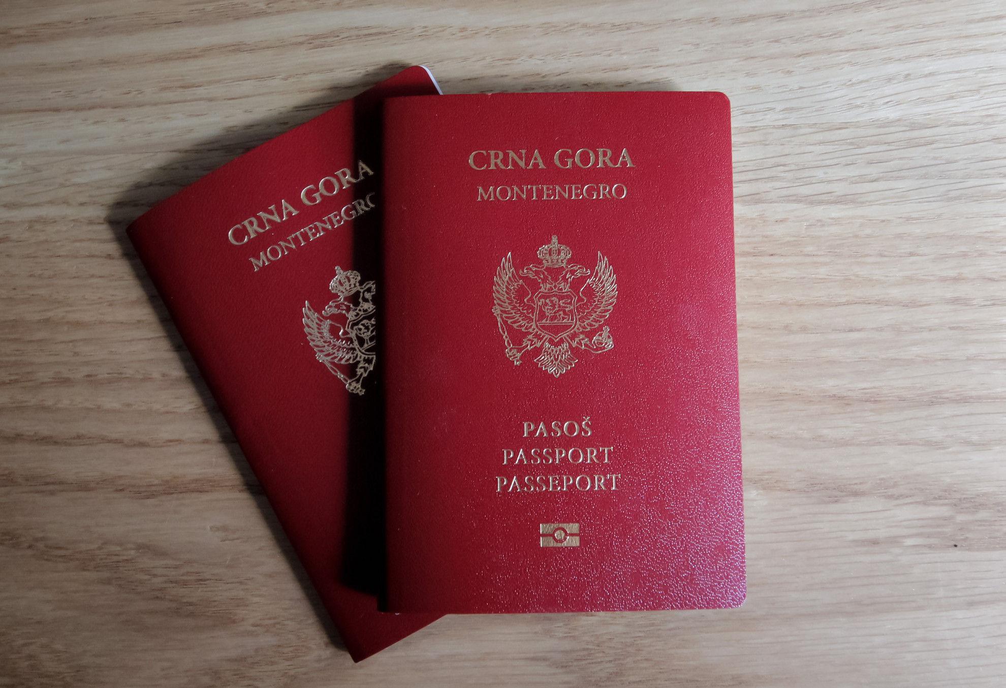Montenegro Citizen Passport