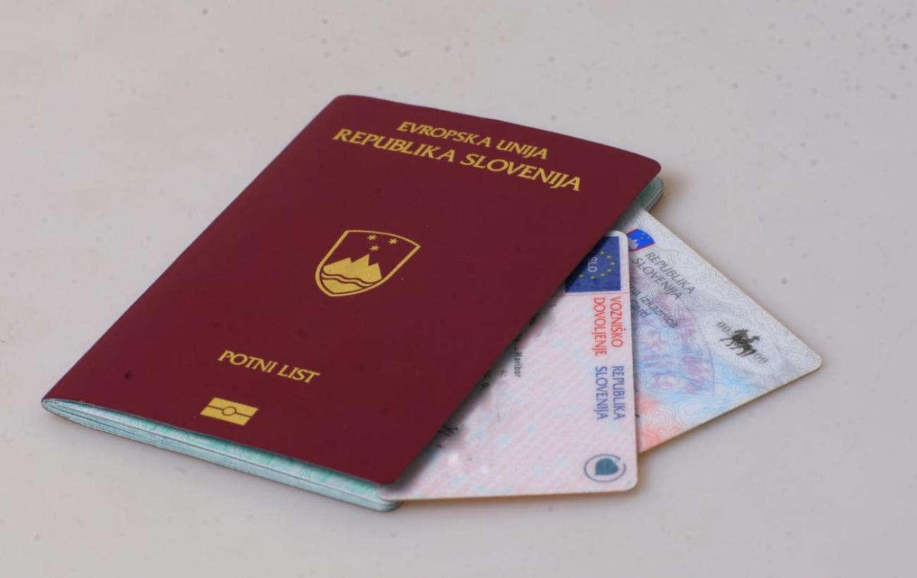 Slovenian Citizen passport
