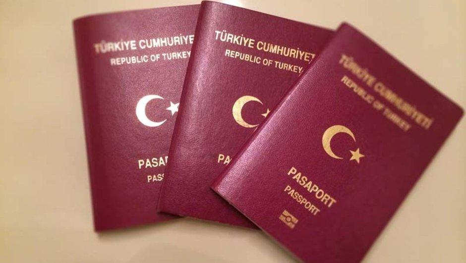 Three Turkey Passport