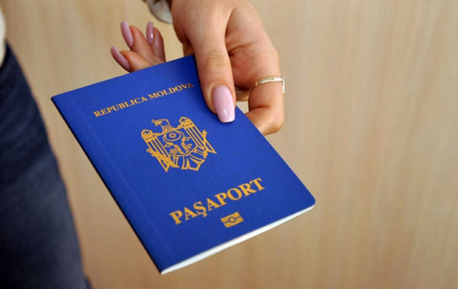 Moldova Citizen having the passport